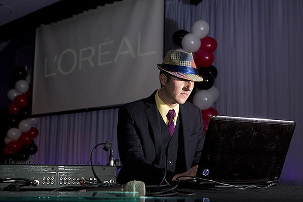 dj for loreal event